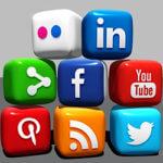 Social Media Block 270x250
